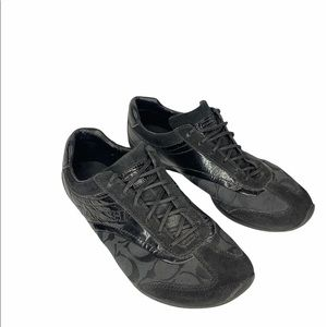 Coach Kodie Signature Patent Leather Sneakers